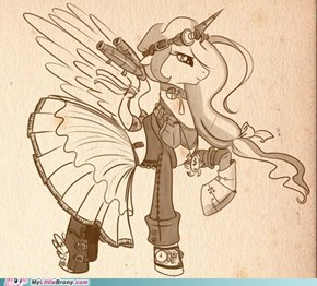 Steam Punk Celestia