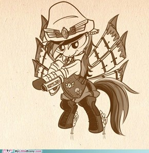 Steam Punk Rainbow Dash