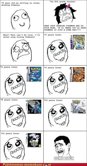 Pokémon Will Always Be Cool