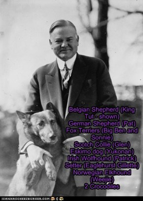 Pets of the US Presidents - Herbert Hoover