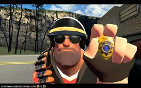 Heavy is cop, your laws are invalid