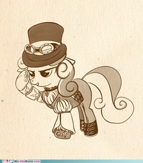 Steam Punk Sweetie Belle