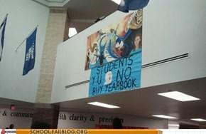 Yearbook Club Y U Make Internet References??