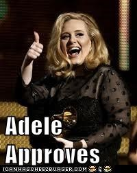 Adele Approves