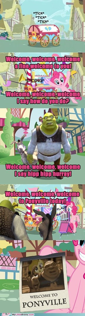 The Official Welcoming to Ponyville