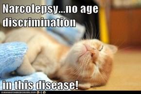 Narcolepsy...