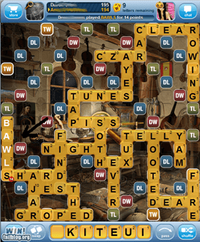 WIN! Bawls in Words With Friends