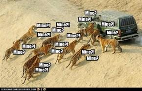 Mine!?