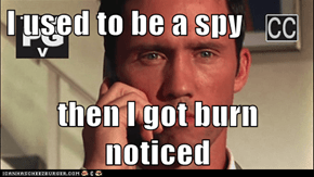 I used to be a spy  then I got burn noticed