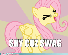 Fluttershy, Y U SO SHY?