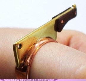 Ring of the Day: Cooking Disasters