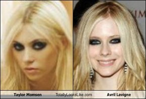 Taylor Momsen Totally Looks Like Avril Lavigne
