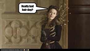 Really bad hair day?