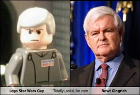 Lego Star Wars Guy Totally Looks Like Newt Gingrich