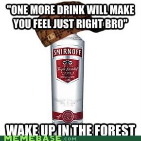 Scumbag Smirnoff
