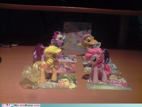 MLP Happy Meal figurines