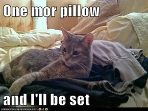 One mor pillow