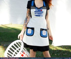 Dressed to WIN: R2 Does ClothesToo
