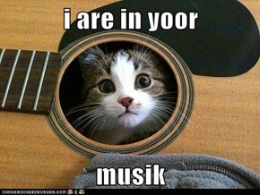 i are in yoor  musik