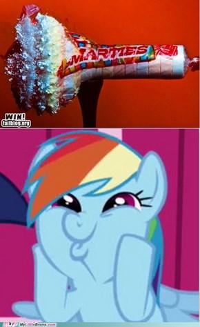 Dash's favorite sonic rainboom candy