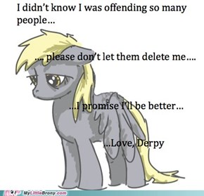 Let's Save Derpy