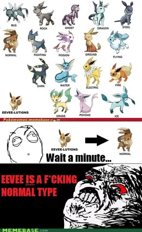 Re: Every Type of Eeveelution