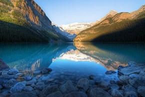 Gorgeous Mountainside Lake