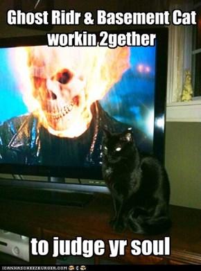 Ghost Ridr & Basement Cat