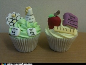 Chemistry and Physics Cupcakes!