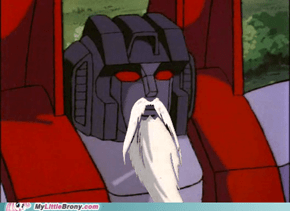 Starscream the Bearded