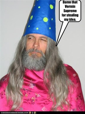 Damn that Vermin Supreme for stealing my idea.