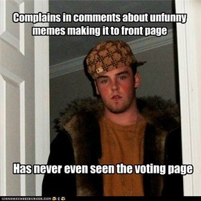 Scumbag every commenter
