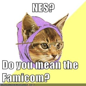NES?  Do you mean the Famicom?
