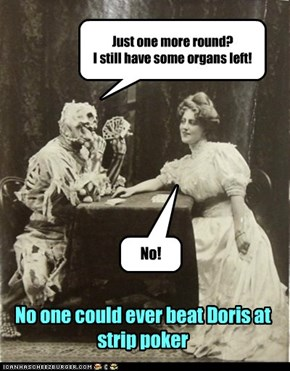 Doris Could Out Play Anyone