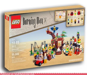 Lego Burning Man Theme Camp