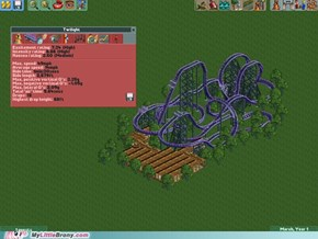 Twilight Sparkle Roller Coaster