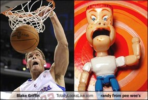 Blake Griffin Totally Looks Like Randy from Pee Wee's