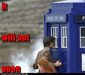 it will not open