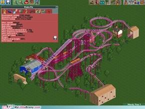 Pinkie Pie Roller Coaster