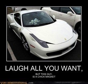LAUGH ALL YOU WANT,