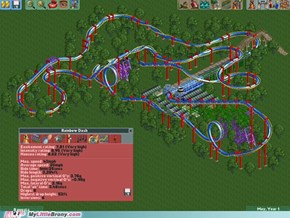 Rainbow Dash Roller Coaster