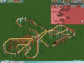 Fluttershy Roller Coaster