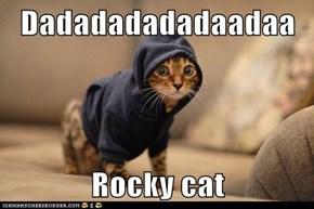 Dadadadadadaadaa  Rocky cat