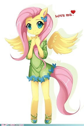 Fluttershy anthro