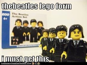 thebeatles lego form  i must get this