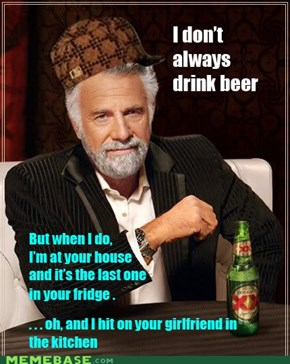 The most interesting scumbag in the world