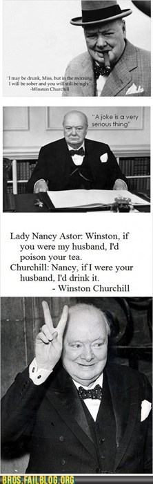 Winston Churchill: the ULTIMATE Bro Chap!