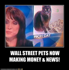 WALL STREET PETS NOW MAKING MONEY & NEWS!