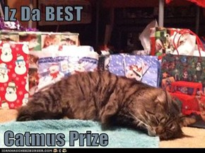 Iz Da BEST   Catmus Prize
