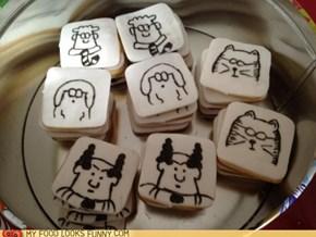 Dilbert Cookies